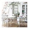 Стул ikea INGOLF, белый, IKEA, 701.032.50, фото 5