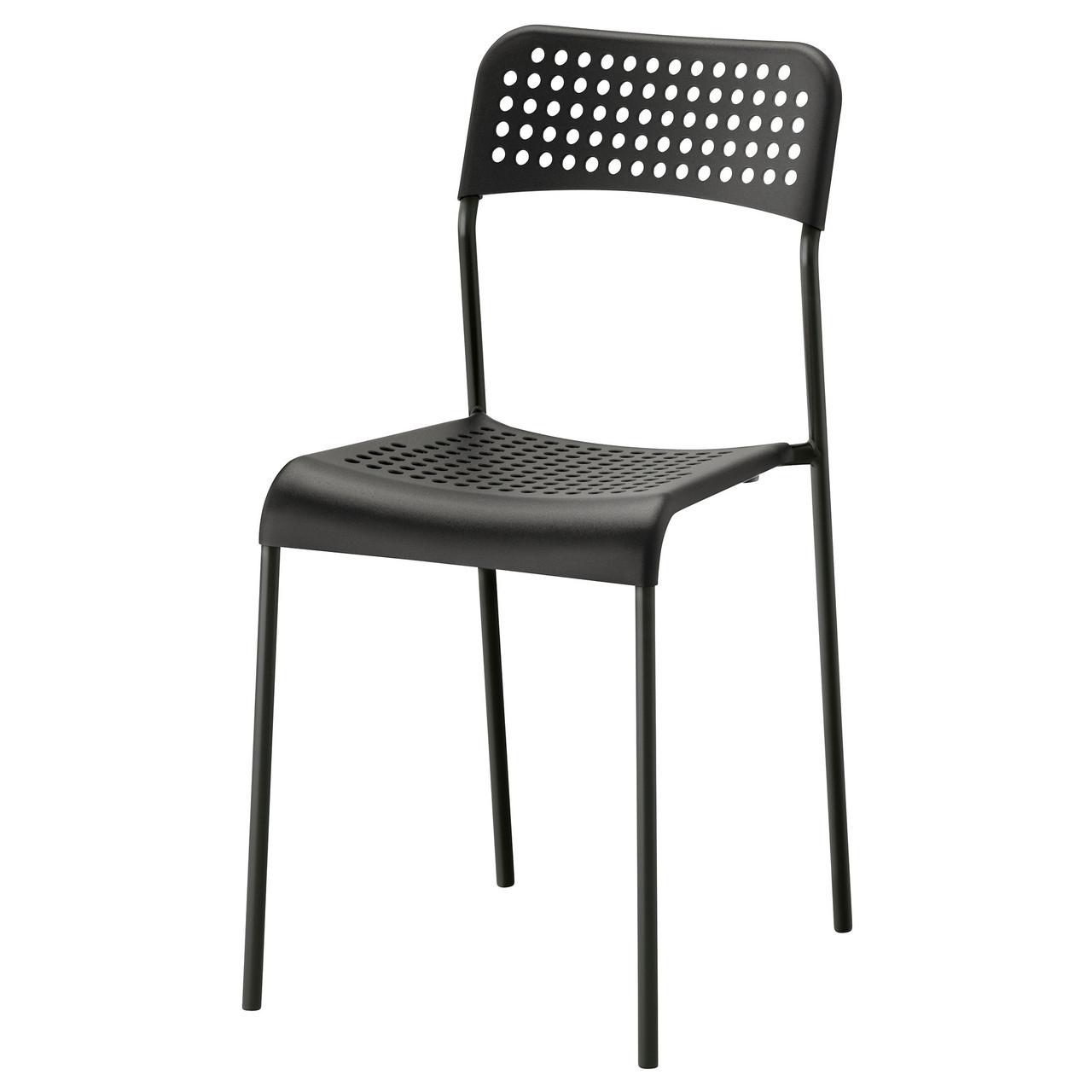 Стілець ікеа ADDE , чорний, IKEA, 902.142.85