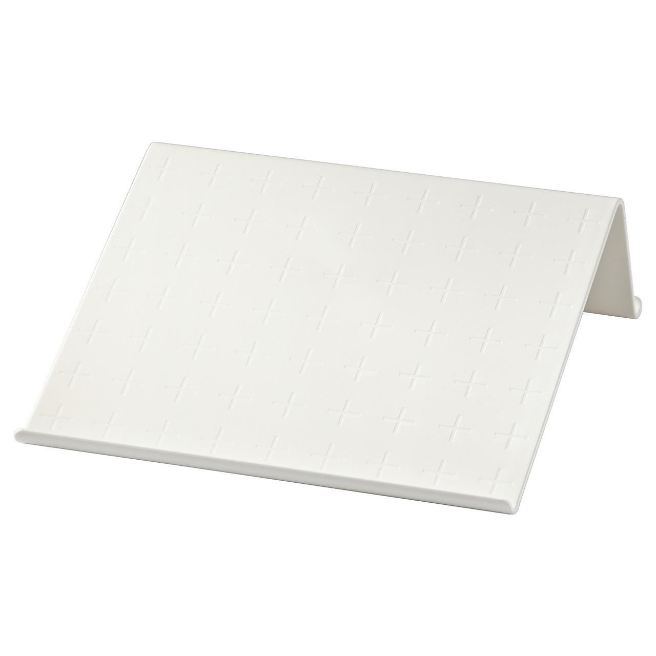 Подставка для планшета ISBERGET, белый, IKEA, 203.025.96