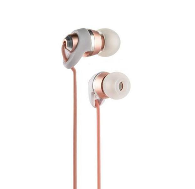 Наушники Remax RM-585 Metal Touching Pink