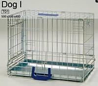 Вольер DOG 1 хром, 50x30x40 см
