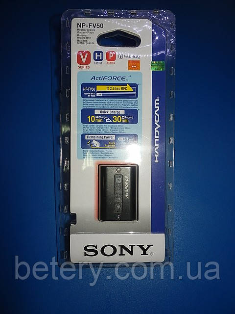 "Аккумулятор Sony NP-FH50 original  6,8V 0,90Ah (6,1W)"" info-Litium """