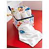 Полотенце детское икеа KRAMA, белое, IKEA, 400.545.38, фото 2
