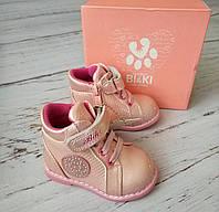 Ботинки для девочек BIKI 18р. по стельке 11,5 см