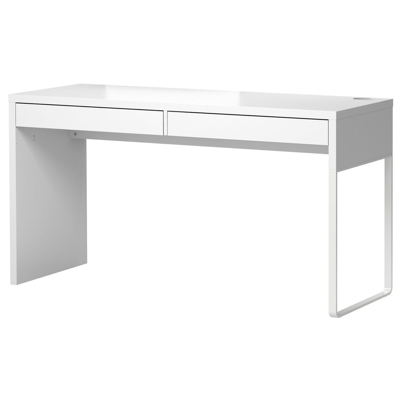 MICKE Письмовий стіл, білий 902.143.08