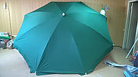 Зонт для кафе зеленый для кафе 3м