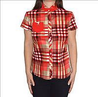 Женская блуза в клетку, фото 1