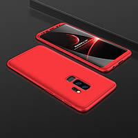 Чехол GKK 360 для Samsung S9 Plus / G965 бампер накладка Red