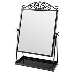 KARMSUND Зеркало настольное, черный 002.949.79