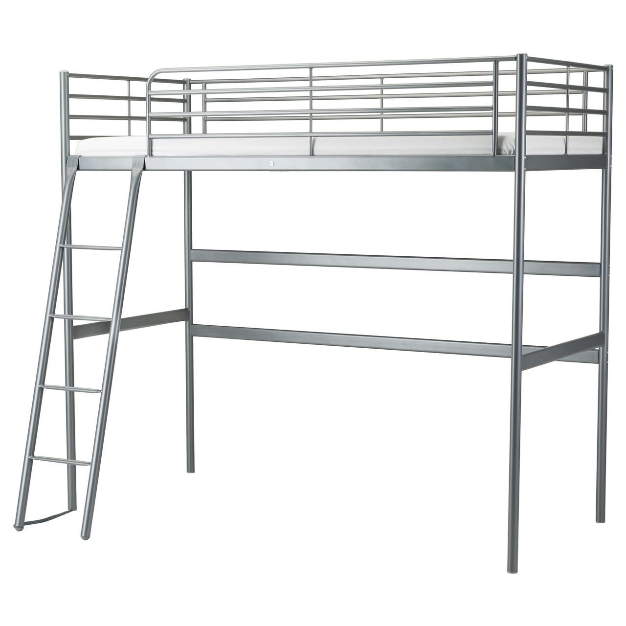 SVÄRTA Каркас кровати-чердака, серебристый 202.479.82