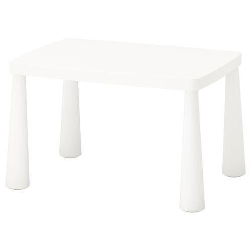 Стол детский для дома или улицы MAMMUT, белый, IKEA, 503.651.77