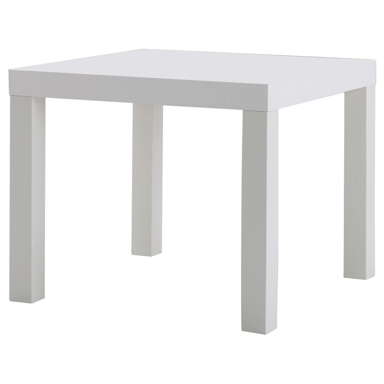 LACK Придиванный столик, белый 200.114.13
