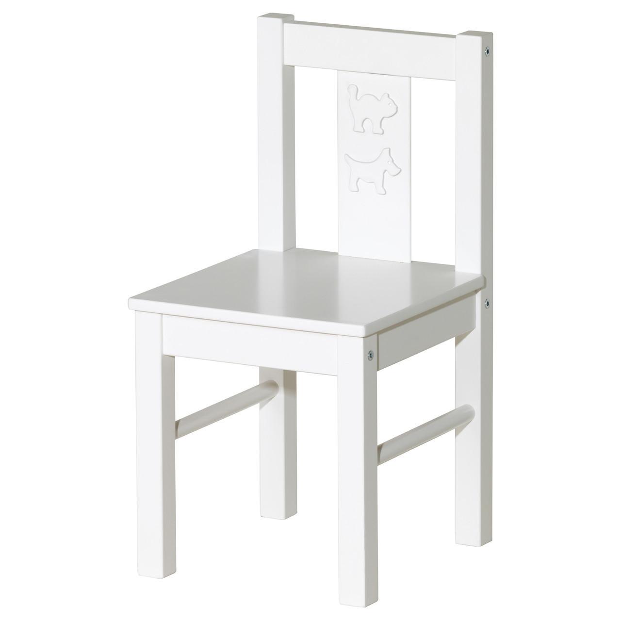KRITTER Детский стул, белый 401.536.99