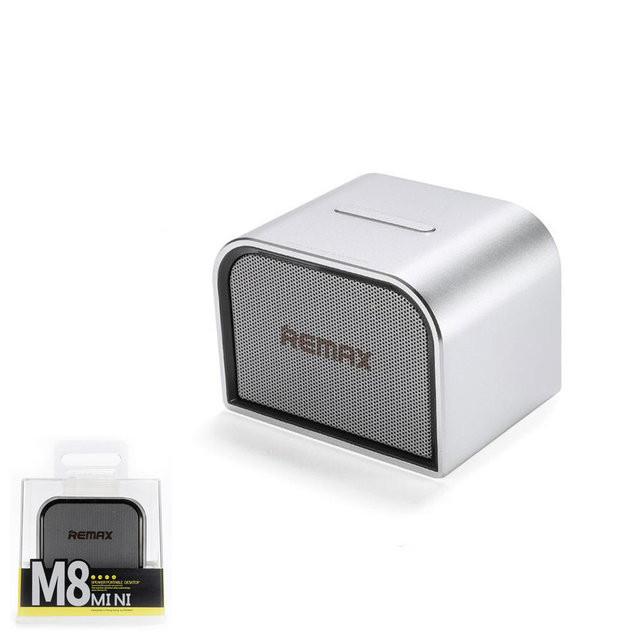 Bluetooth колонка Remax RB-M8 Mini Silver