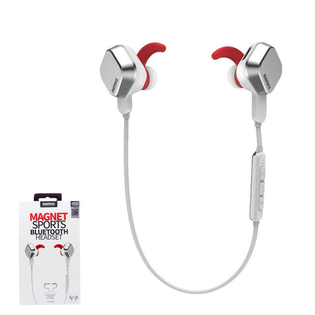 Наушники bluetooth  BT4.1 Sporty Remax RB-S2 White