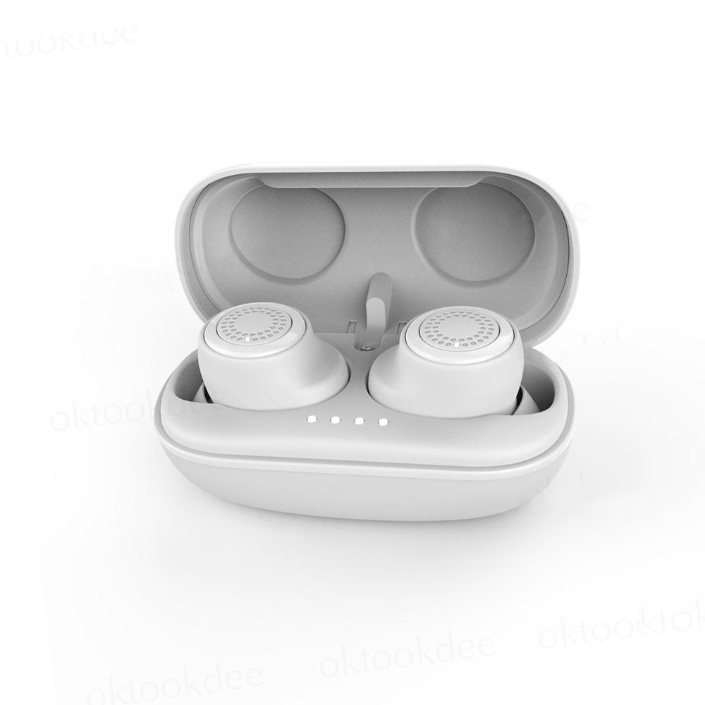 Навушники bluetooth Remax TWS-2 White