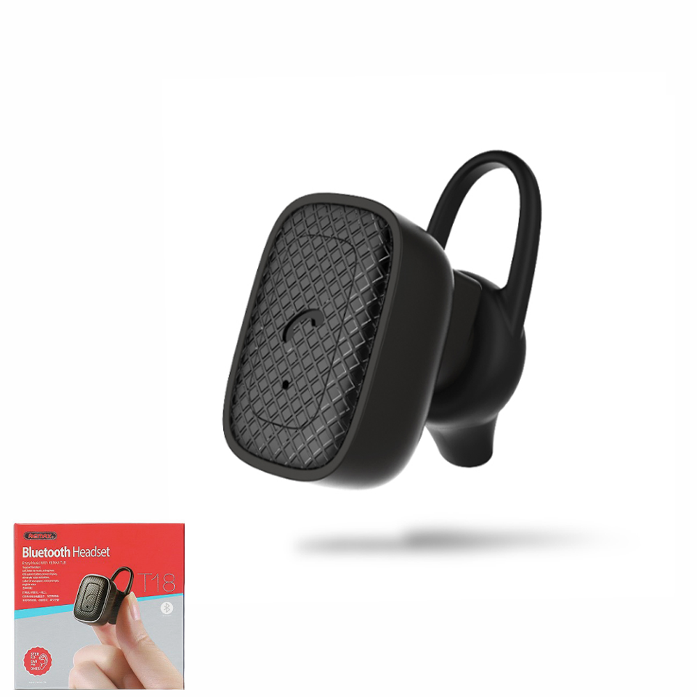 Гарнитура bluetooth Remax RB-T18 Black