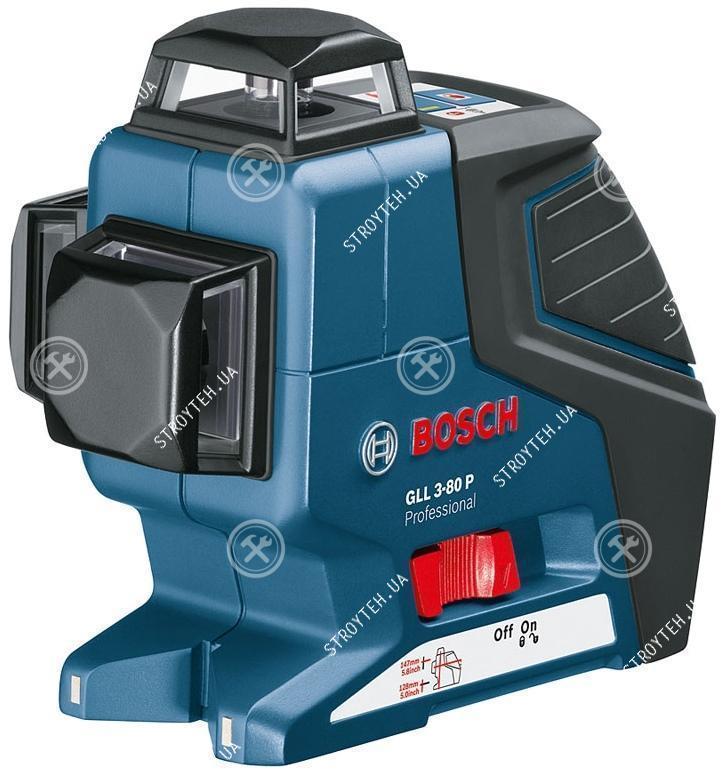 Bosch GLL 3-80 P Professional Линейный лазерный нивелир + BS150 (0601063306)
