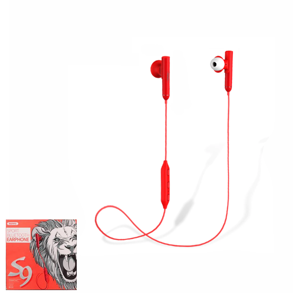 Наушники bluetooth Remax RB-S9 Red
