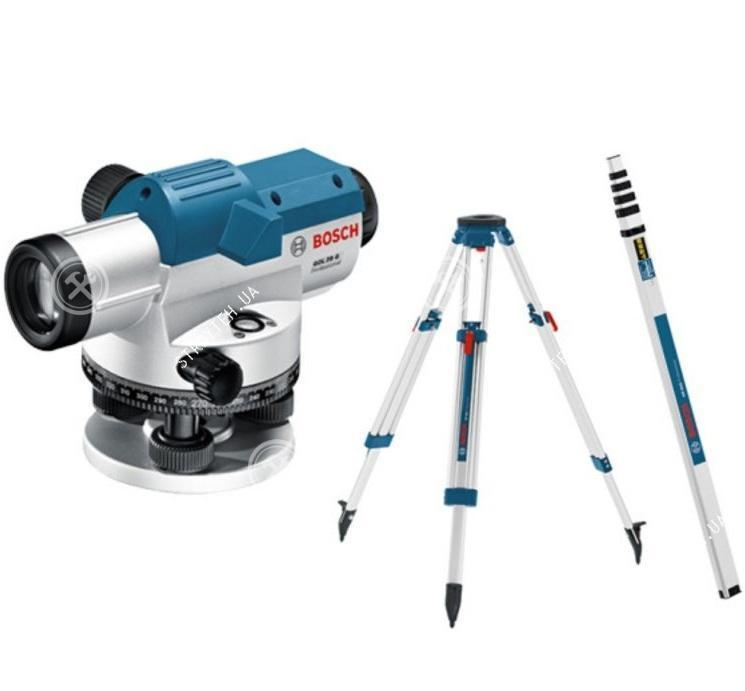 Bosch GOL 26 D + BT160 + GR500 Нивелир оптический (0601068002)