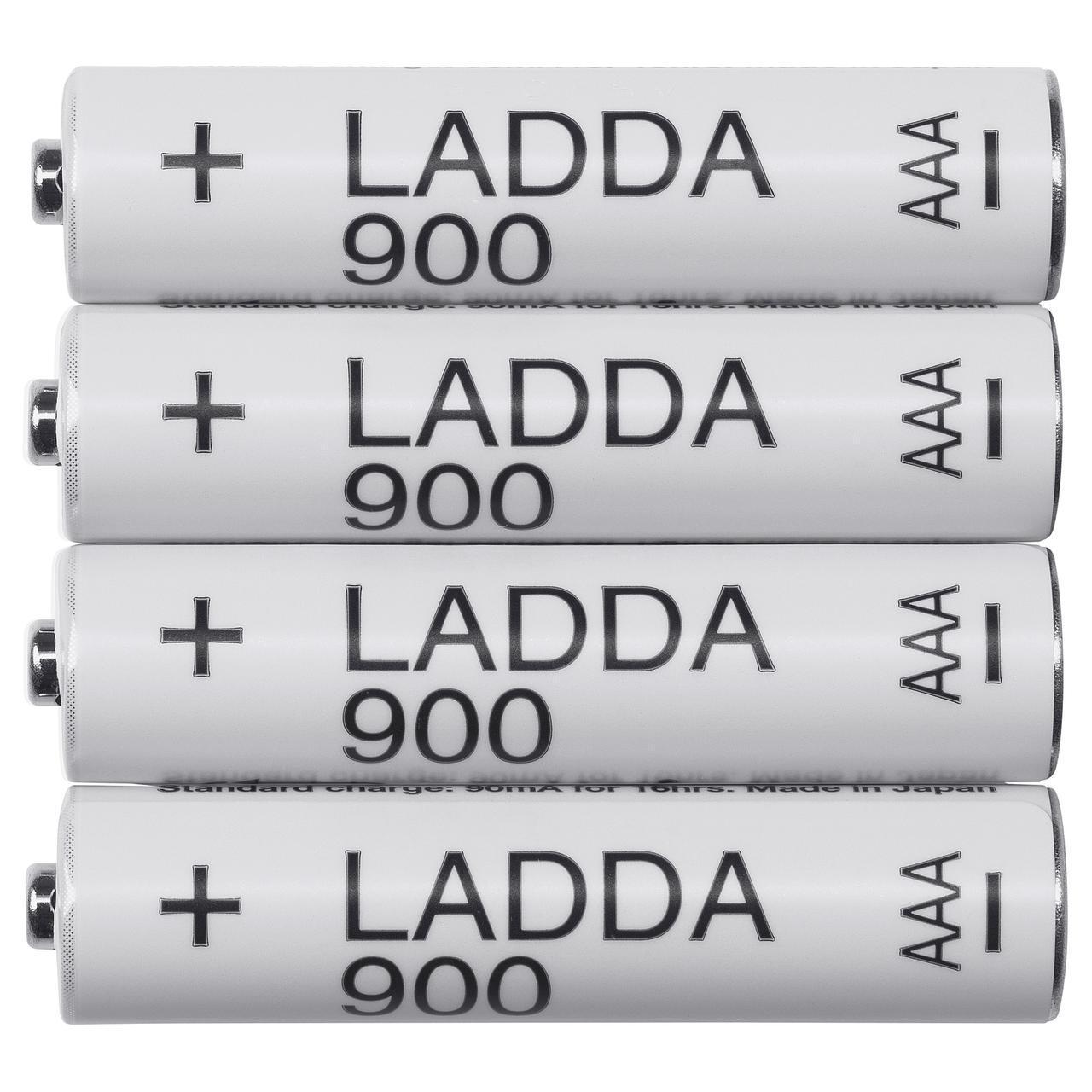 Батареи IKEA LADDA HR03 AAA 1.2V 903.038.80