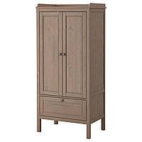 SUNDVIK Шкаф платяной, серо-коричневый 902.696.97