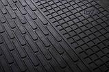 Резиновые передние коврики в салон Ford Mondeo V 2013-2014 (STINGRAY), фото 4