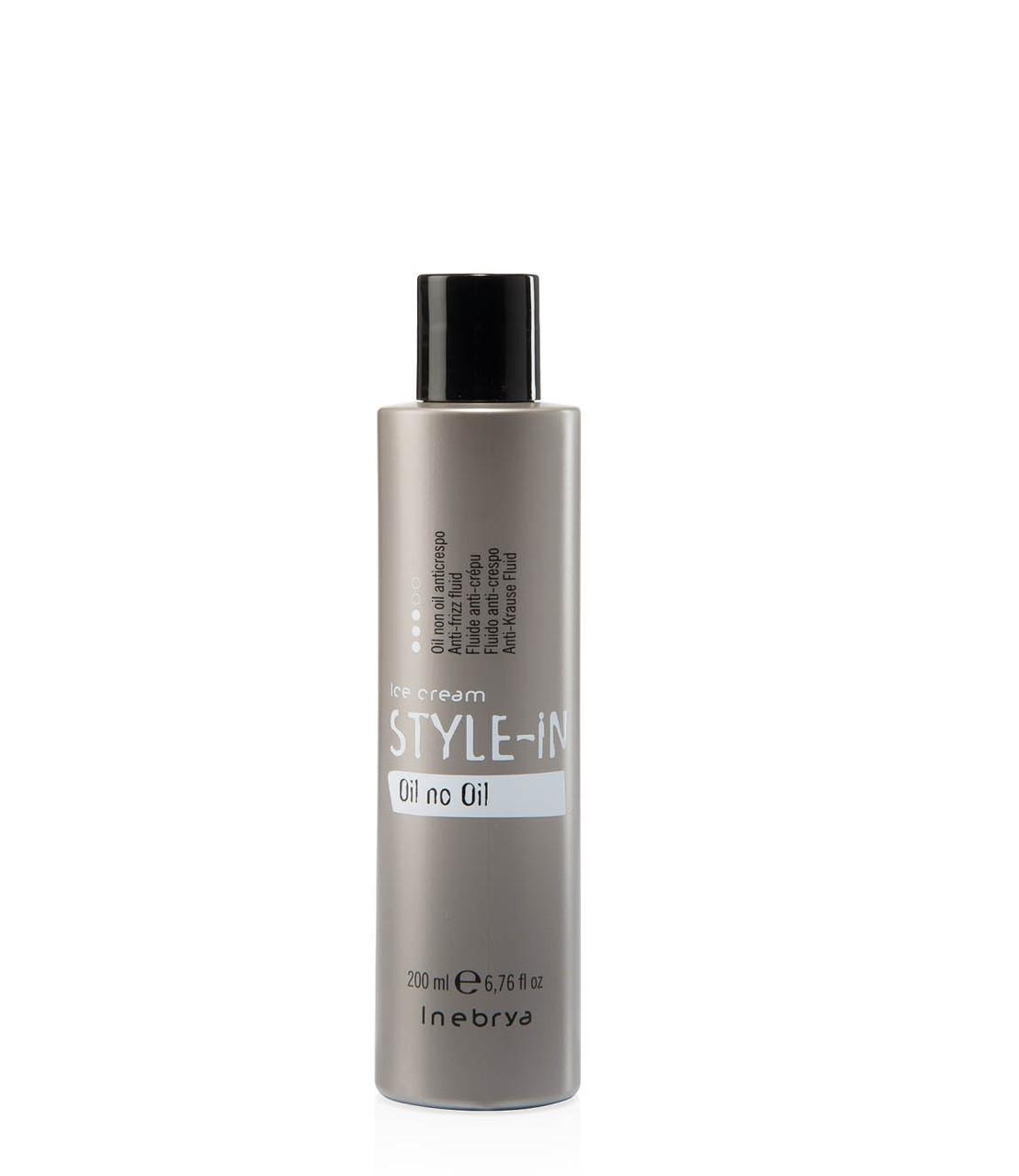 Флюид для выпрямления вьющихся и пушащихся волос Inebrya Style-In Oil Non Oil 200мл