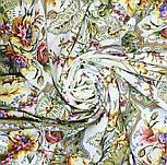 Отрада 678-3, павлопосадский платок шерстяной  с шерстяной бахромой, фото 6