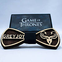 Эксклюзивный галстук-бабочка из дерева KRAGO Game of Thrones Greyjoy KRG-01005, КОД: 187195