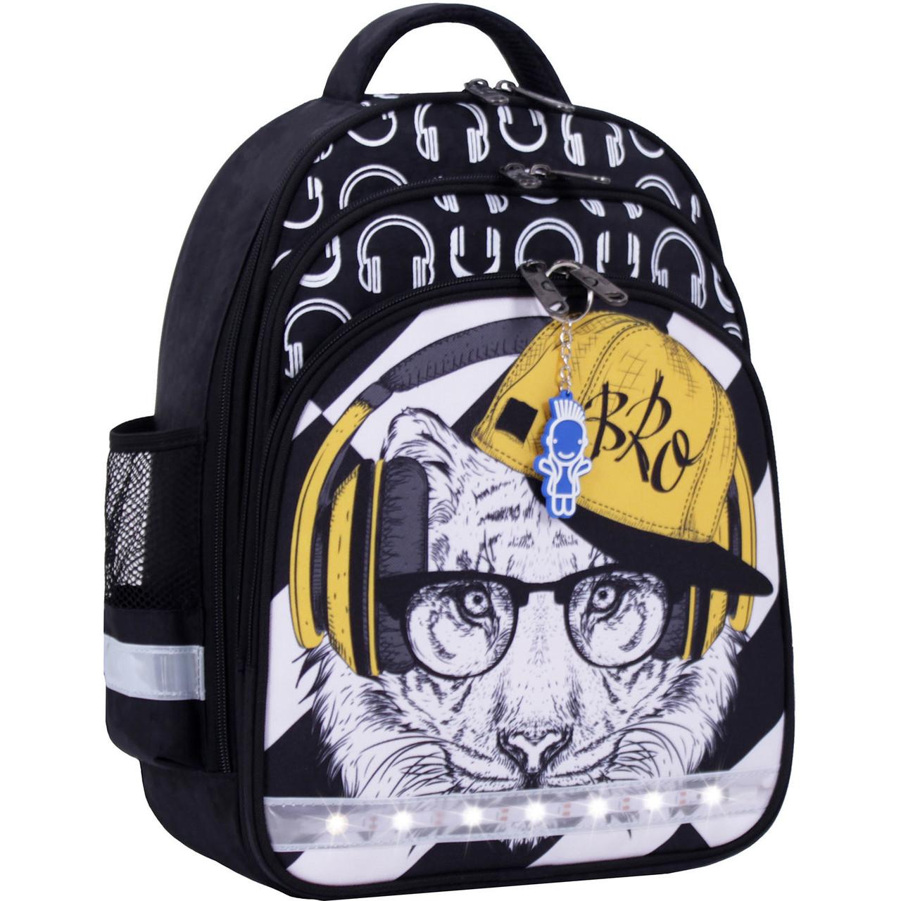 Украина Рюкзак школьный Bagland Mouse черный 175к (0051370)