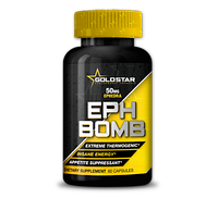 Для снижения веса Gold Star EPH Bomb DMAA - 60 капсул