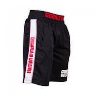 Gorilla Wear, Шорты спортивные California Mesh Shorts Black/Red