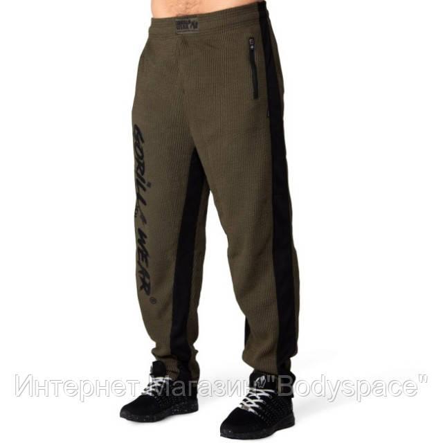 Gorilla Wear, Штаны спортивные Augustine Old School Pants - Army Green
