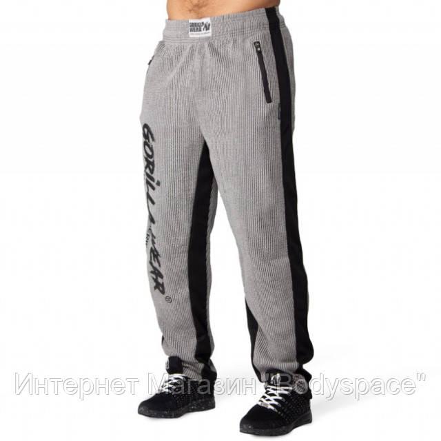 Gorilla Wear, Штаны спортивные Augustine Old School Pants - Gray