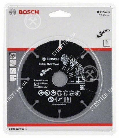 Bosch круг отрезной по дереву 115мм