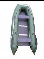 Лодка надувная  пвх моторная килевая omega Ω М 330 К