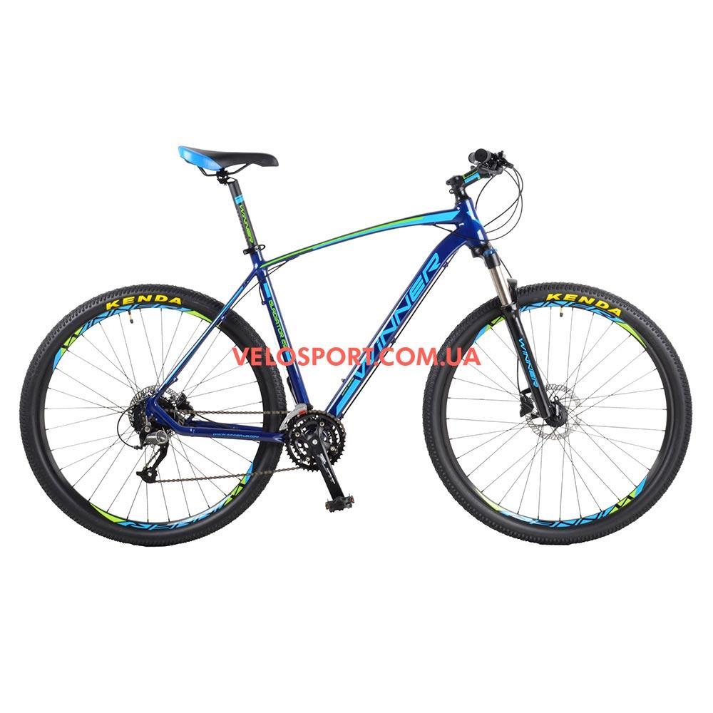 """Горный велосипед Winner Gladiator 29 дюймов 22"""" синий"""