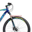 """Горный велосипед Winner Gladiator 29 дюймов 22"""" синий, фото 2"""
