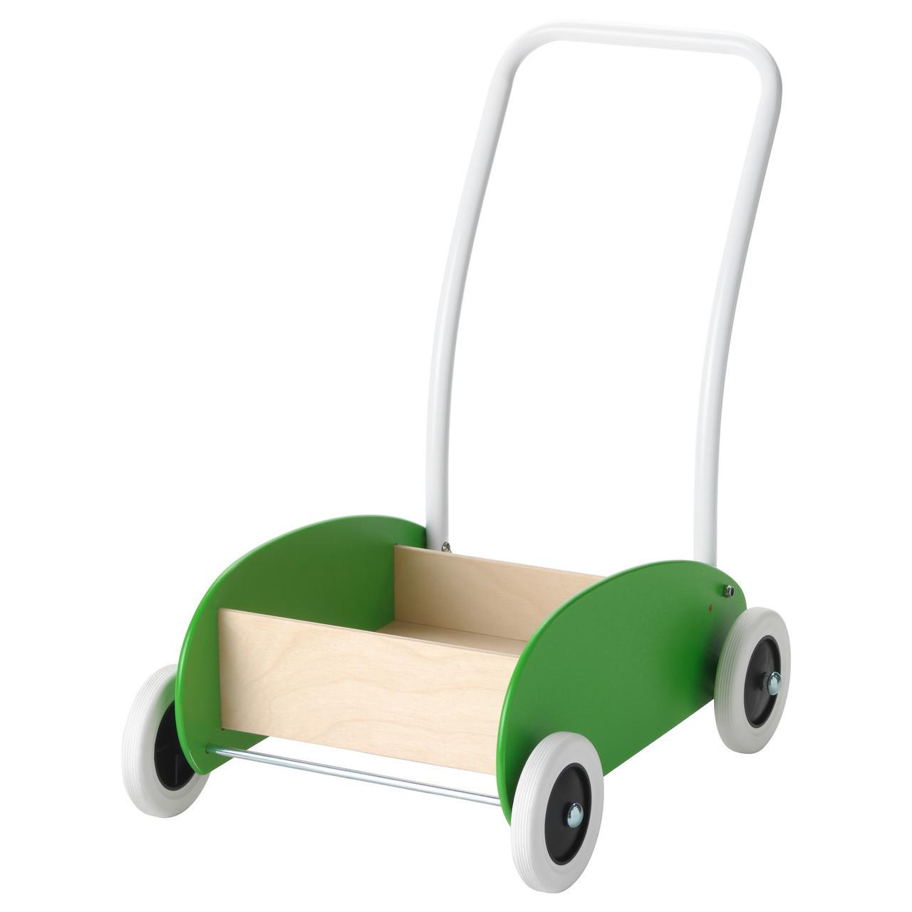 Дитяча іграшкова коляска IKEA MULA береза зелена 302.835.78