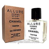 Тестер Chanel Allure Homme Sport Eau Extreme (Шанель Аллюр Хом Спорт Экстрим), 50 мл (лицензия ОАЭ), фото 1