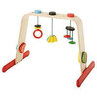 Стойка с игрушками IKEA LEKA береза разноцветный 701.081.77