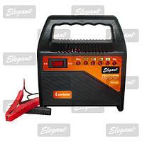 Зарядное устройство Elegant Plus 6-12 В, 6А для автомобильного аккумулятора и мотоцикла EL 100 430