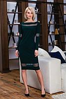 Платье с сеткой  с 42 по 50 размер