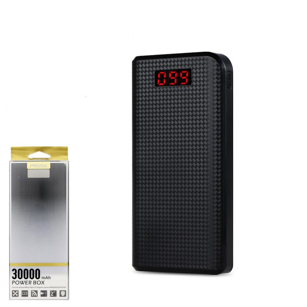 Портативний зарядний пристрій (Power Bank) Remax Power Box PPL-14 30000mAh Black