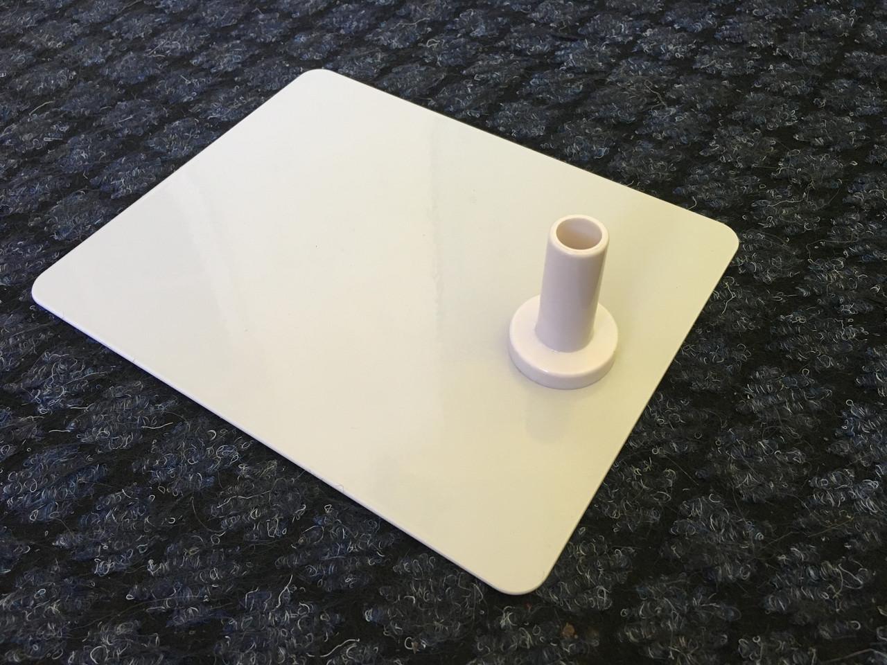Подставка для трубок металлическая с пластиковым держателем