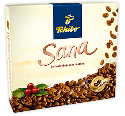 Кофе молотый из Германии Tchibo (Чибо) Sana Duo 500 г.
