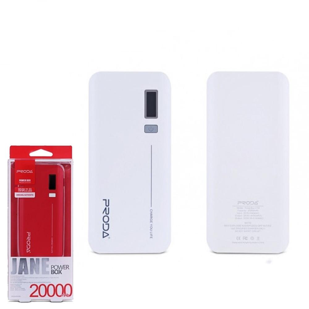 Портативное зарядное устройство (Power Bank) Remax Jane V10i PPL-6 20000mAh White