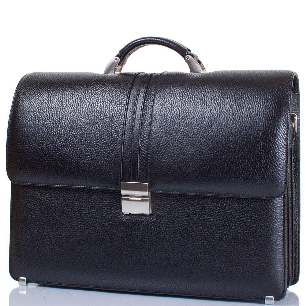 152857276d1e Кожаный мужской портфель с карманом для ноутбука 12,6