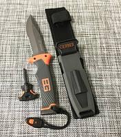 Охотничий нож Gerber с огнивом и свистком 25 см / АК-210